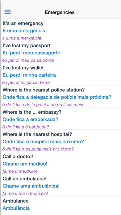 Portuguese Dictionary Free iPhone Screenshot 5