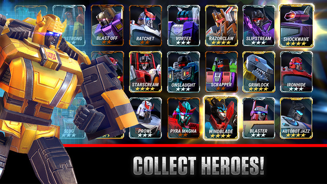 Transformers: Earth Wars Screenshots