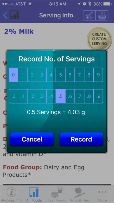 iProteins iPhone Screenshot 5
