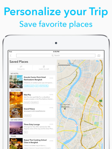 Chicago Travel Guide by Triposo with offline maps screenshot