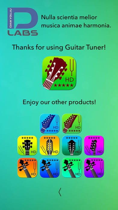 Guitar Tuner Pro - Tune your guitar with precision and ease! screenshot 2