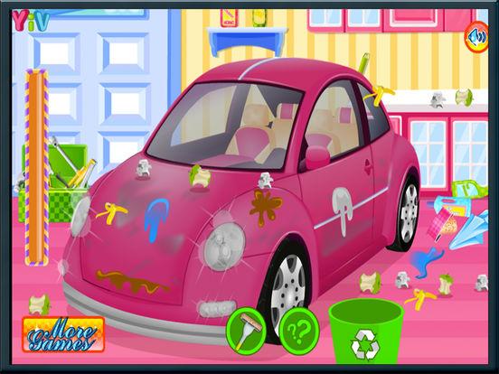 Mechanic Car Washing game - car garage-ipad-1