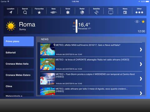 Meteo HD - Previsioni by iLMeteo.it screenshot 2