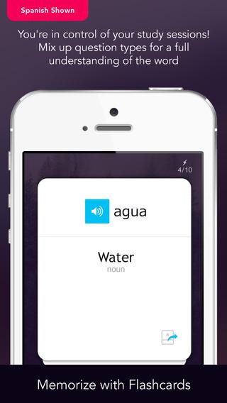 Learn Romanian Vocabulary - Free WordPower iPhone Screenshot 5