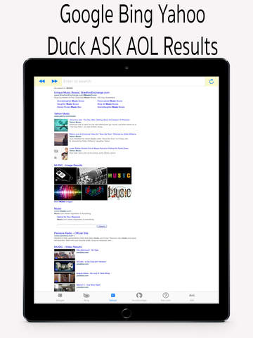 Universal Search Engine Screenshots