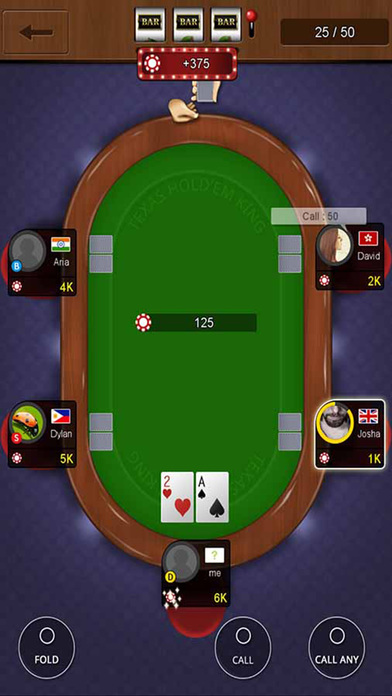 Screenshot 3 Texas Holdem Poker-King