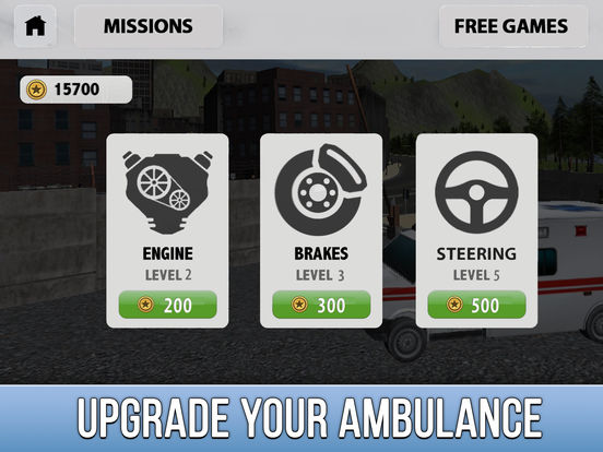 Ambulance Driving Simulator 3D Full screenshot 8