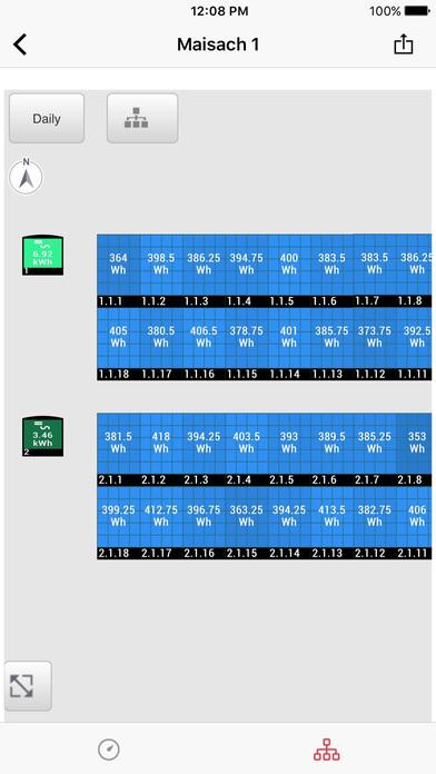 SolarEdge Monitoring Apps gratis voor iPhone / iPad screenshot