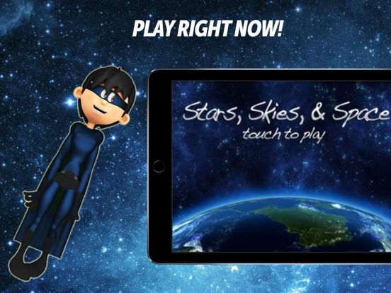Stars Skies and Space - Ambient Environment Relaxation iPad Screenshot 1