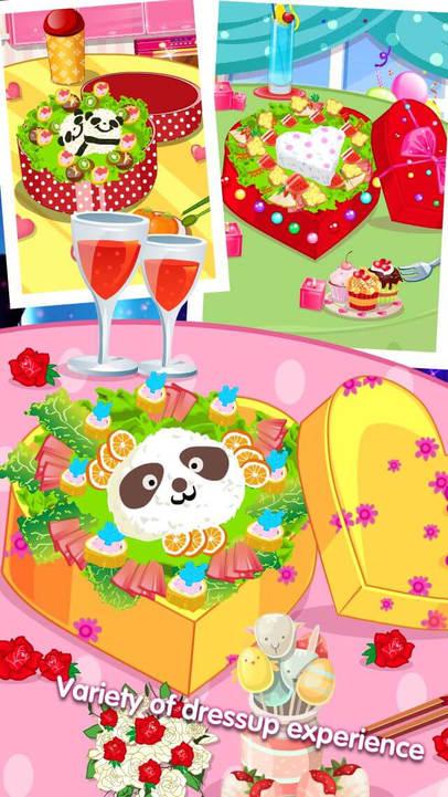 美味午餐 - 暖心可爱宝贝爱烹饪制作蛋糕,水果,披萨食谱搭配物语,儿童