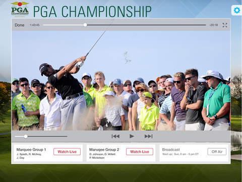 PGA Championship iPad Screenshot 2