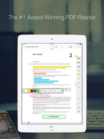 PDF Reader Pro Edition - Annotate, edit & sign PDFs, fill forms Screenshots