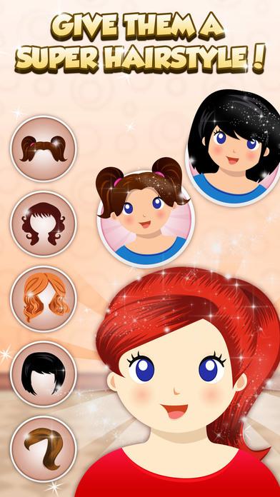Игры уход за волосами в спа