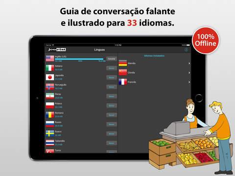 Tradutor de Viagem iPad Screenshot 1