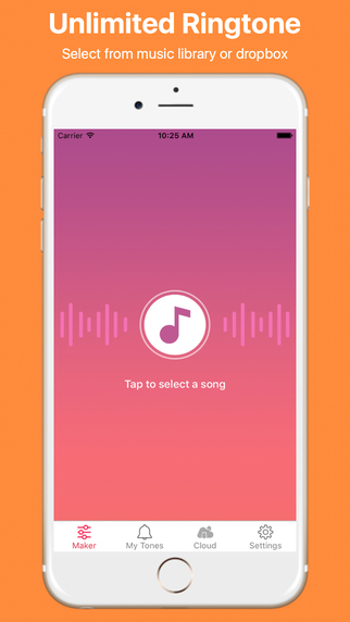 Unlimtones - Create Unlimited Ringtones, Music Ringtone Maker Screenshots