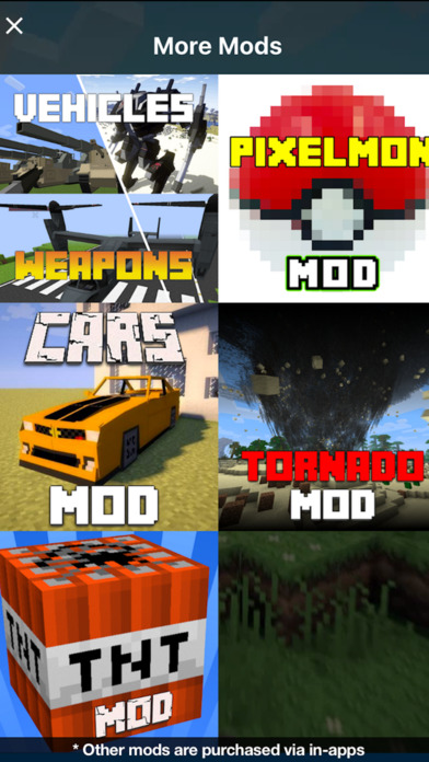 Screenshots of PIXELMON MODS for Minecraft PC Edition - The Best Pocket Wiki & Tools for MCPC for iPhone