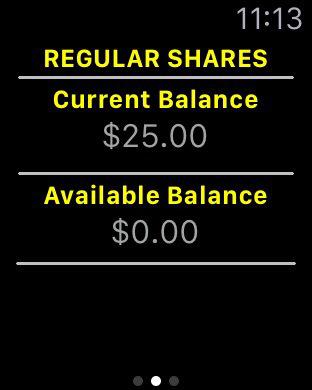 Fiberglas FCU Mobile Banking iPhone Screenshot 7
