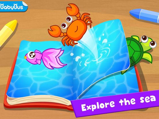 Happy Fishing: Game for children iPad Screenshot 1