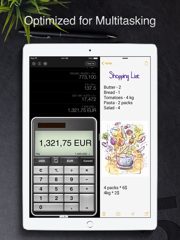 Calculator Pro for iPad - Scientific Calculator Screenshots