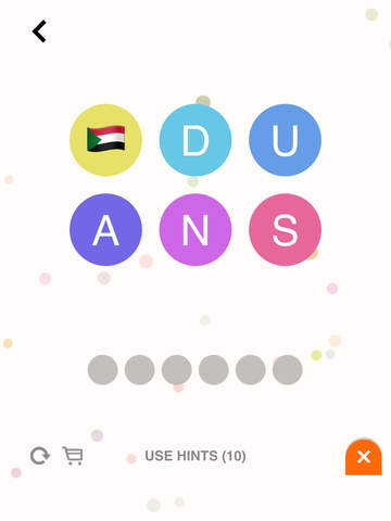 FlagBubbles - Flag Word Bubbles Game For Country Flags Wordbubbles!