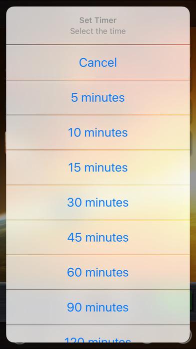 iSleep Space iPhone Screenshot 2