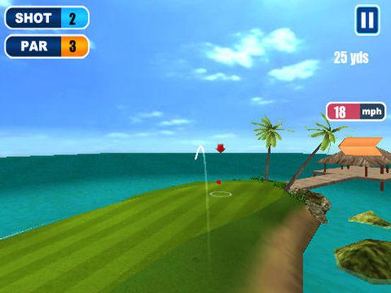 Ace Golf 3D iPad Screenshot 2