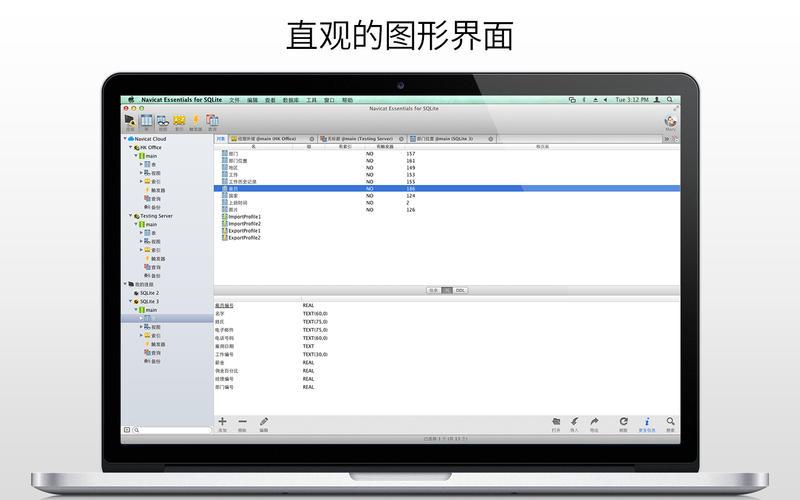 Navicat Essentials for SQLite for Mac