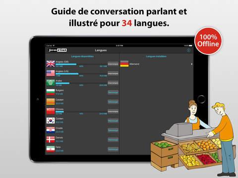 Le traducteur de voyage iPad Screenshot 1