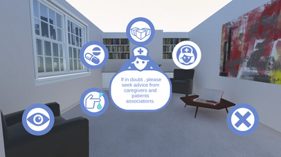Diabetes VR screenshot for iPhone
