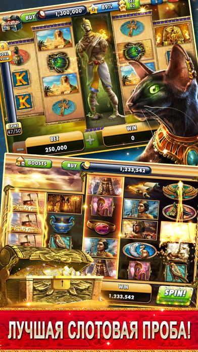 Screenshot 5 Cleopatra Casino — Слотовые игры