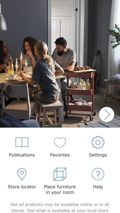 IKEA Catalogue iPhone Screenshot 2