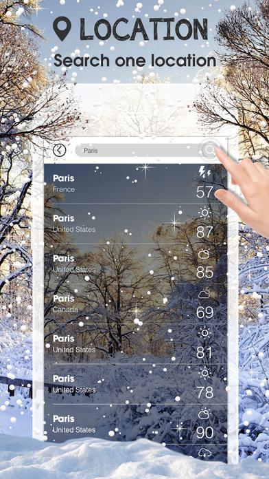 Weather Underground:Widget Weather Forecasts, Interactive Radar, and Weather Alerts Apps for iPhone/iPad screenshot