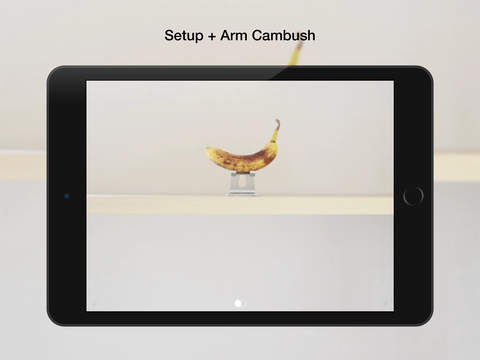Cambush - Motion Detector Video Camera - Surveillance, Detection, Security, Spy Cam App Screenshots