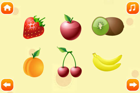 宝宝早教 认水果、宝宝看图识字、幼儿早教启蒙认汉字、拼音 screenshot 2