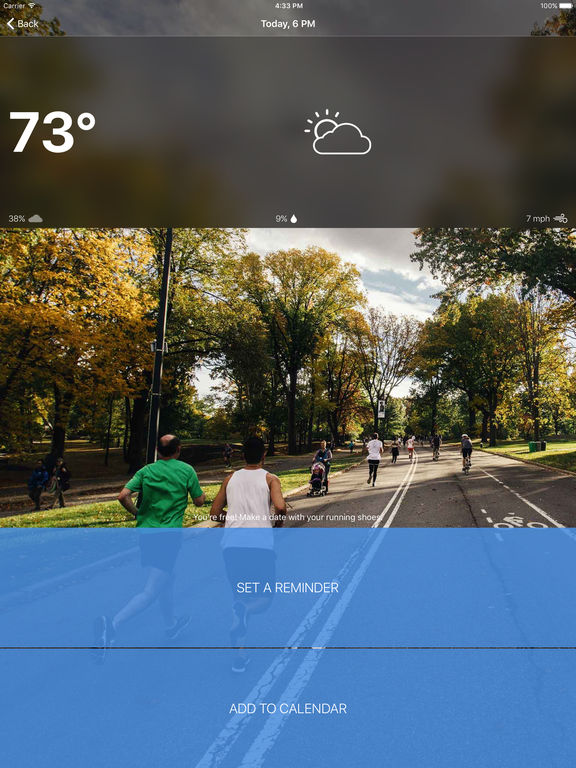 Runcast - Weather for Runners screenshot 7