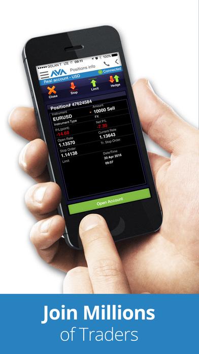 AvaFXTrader iPhone Screenshot 5