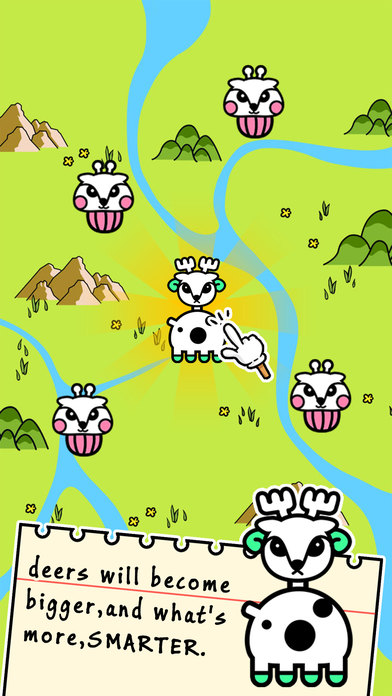 Reindeer Evolution - Tap Coins of the Crazy Mutant Simulator Idle Game-1