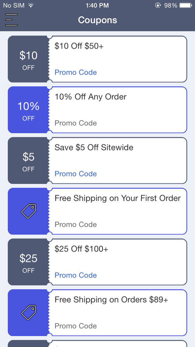 Uniform city coupon code