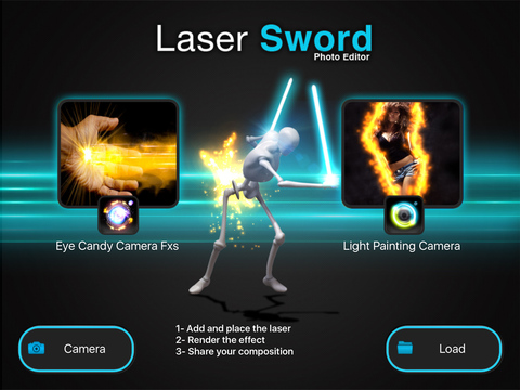 LASER SWORD PHOTO EDITOR FX + Light Glow and Laser Saber Screenshots