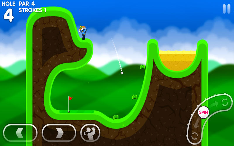 Super Stickman Golf 3 Screenshot - 3