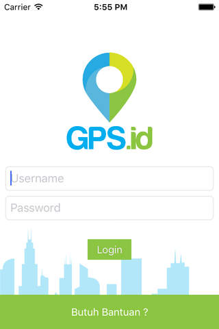 GPS.id Super Spring screen
