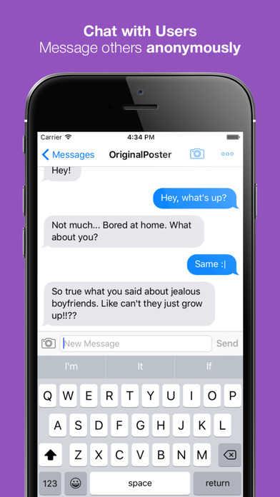 PostYo - The Anonymous Posting App screenshot