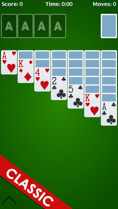 Screenshot 1 Solitaire Classic – Play klondike & Classics Card Games