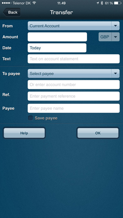 Northern Bank iPhone Screenshot 3