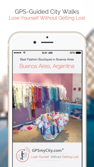 Best Fashion Boutiques in Buenos Aires (Lite Version) iPhone Screenshot 1