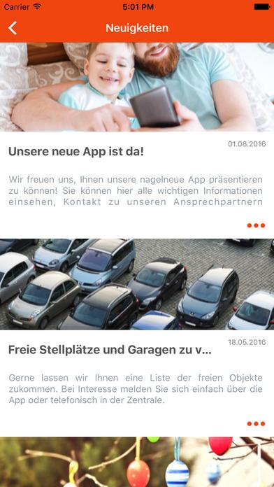 Baugenossenschaft Bochum direkt screenshot