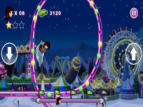 Crazy Roller Coaster Game Screenshots