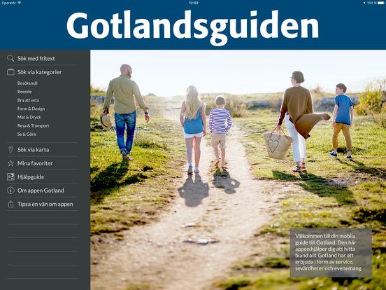 Gotland iPad Screenshot 1