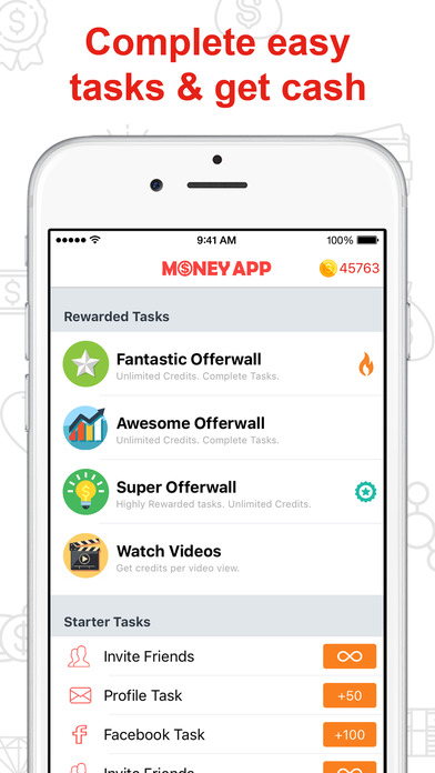 Screenshots of Money App – Free App Cash and Rewards for iPhone