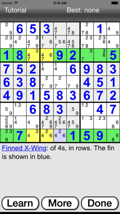 :) Sudoku + screenshot 5